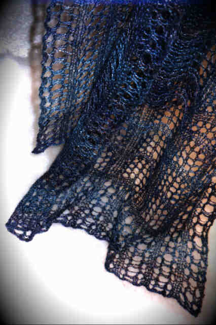 Crest of the Wave Lace Scarf