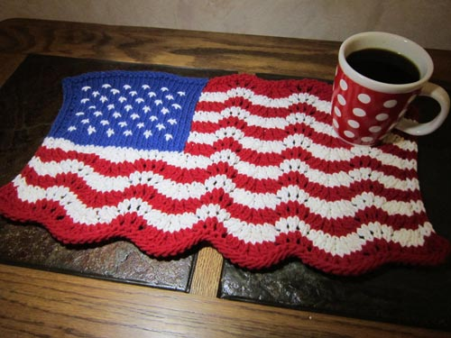 Americana Flag Placemat