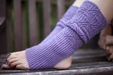 Austrian Lace Stirrup Leg Warmers