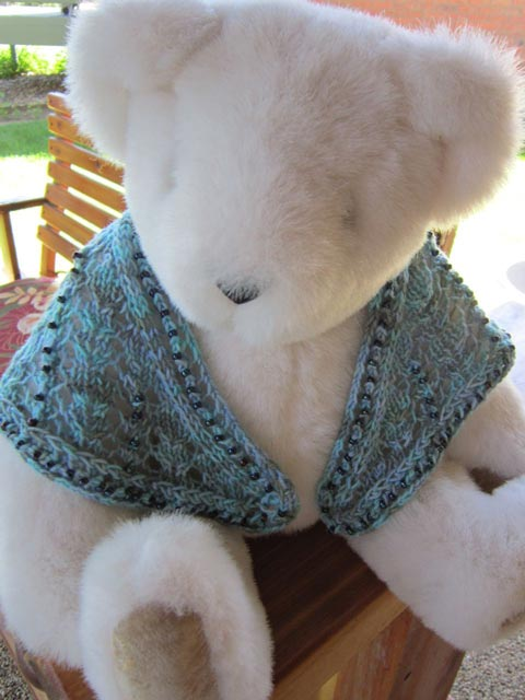 Dolly's Top-Down Tri Shawl
