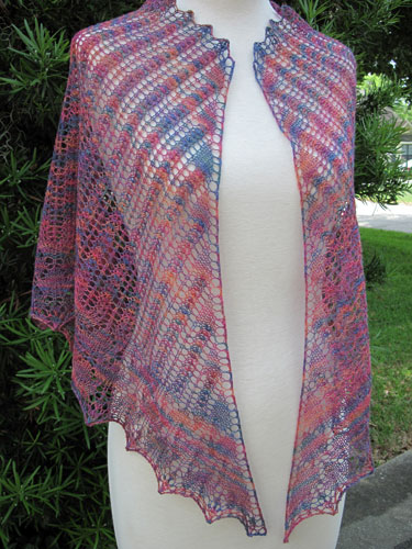 V-Start Triangle Shoulder Shawl