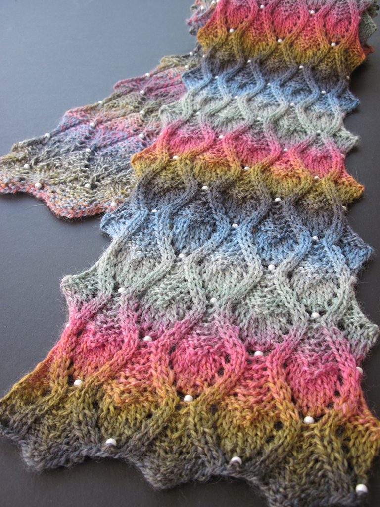 knitting patterns lace beads and more from heartstrings