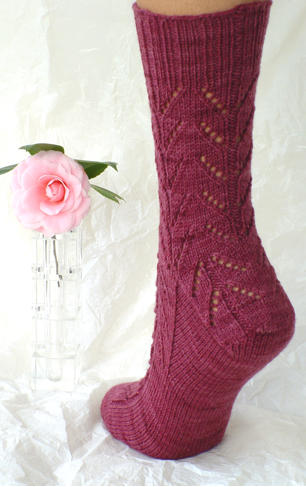Down and Up Lace Socks