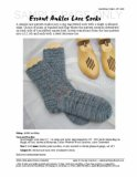 Sample cover page of HeartStrings Errant Ankles Lace Socks pattern